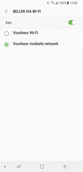 Samsung Galaxy S8 - Bellen - bellen via wifi (VoWifi) - Stap 8