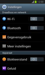 Samsung S7390 Galaxy Trend Lite - Wi-Fi - Accéder au réseau Wi-Fi - Étape 4