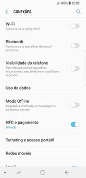 Samsung Galaxy S9 - Internet no telemóvel - Como ativar os dados móveis -  5