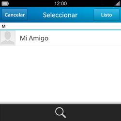 BlackBerry Q5 - Mensajería - Escribir y enviar un mensaje multimedia - Paso 6