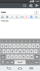 LG G2 mini LTE - Email - Sending an email message - Step 10