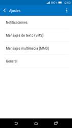 HTC One M9 - Mensajería - Configurar el equipo para mensajes de texto - Paso 7