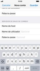 Apple iPhone SE - iOS 11 - Email - Configurar a conta de Email -  15