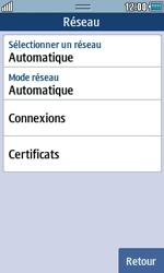 Samsung S5250 Wave 525 - Internet - configuration manuelle - Étape 7