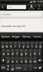 HTC T320e One V - E-mail - Hoe te versturen - Stap 5