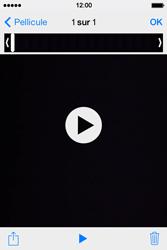 Apple iPhone 4 - Photos, vidéos, musique - Créer une vidéo - Étape 8