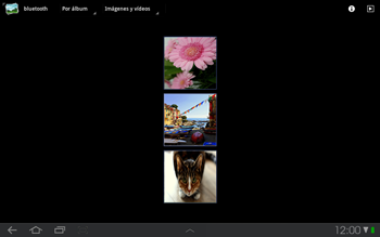Samsung P7500 Galaxy Tab 10-1 - Bluetooth - Transferir archivos a través de Bluetooth - Paso 5