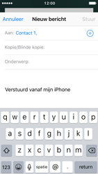 Apple iPhone 5s met iOS 10 (Model A1457) - E-mail - Hoe te versturen - Stap 6