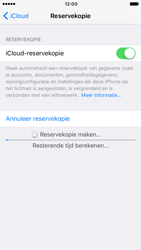 Apple iPhone 6 iOS 10 - Device maintenance - Back up - Stap 14