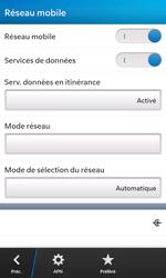 BlackBerry Z10 - Internet - activer ou désactiver - Étape 6