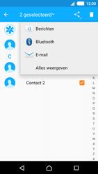 Sony E2303 Xperia M4 Aqua - Contactgegevens overzetten - delen via Bluetooth - Stap 8
