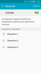 Samsung Galaxy A5 (2016) - Bluetooth - Conectar dispositivos a través de Bluetooth - Paso 6
