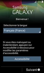 Samsung Galaxy Ace 4 - Premiers pas - Créer un compte - Étape 3