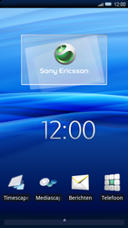 Sony Ericsson Xperia X10 - Wifi - handmatig instellen - Stap 1