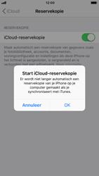 Apple iPhone 6 - iOS 12 - toestel resetten - back-up maken met jouw account - stap 13
