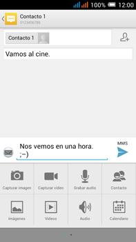 Alcatel Pop C9 - Mensajería - Escribir y enviar un mensaje multimedia - Paso 14