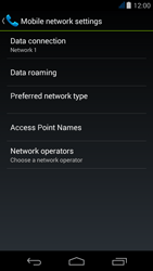 Acer Liquid Jade Z - Network - Usage across the border - Step 6