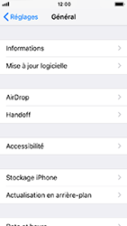 Apple iPhone SE - iOS 12 - Appareil - Mise à jour logicielle - Étape 5