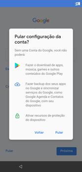 Motorola One - Primeiros passos - Como ativar seu aparelho - Etapa 12