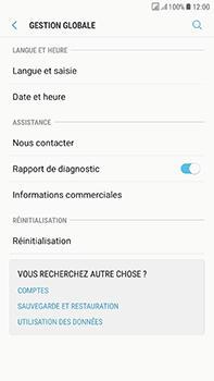 Samsung Galaxy J7 (2017) - Device maintenance - Retour aux réglages usine - Étape 6