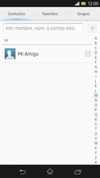 Sony Xperia Z - Mensajería - Escribir y enviar un mensaje multimedia - Paso 6