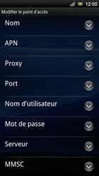 Sony Ericsson Xperia Neo V - Internet - Configuration manuelle - Étape 9