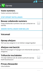 LG E975 Optimus G - Voicemail - Handmatig instellen - Stap 5