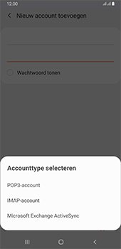 Samsung galaxy-a6-plus-sm-a605fn-ds-android-pie - E-mail - Account instellen (POP3 zonder SMTP-verificatie) - Stap 9