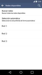 LG K10 4G - Red - Seleccionar una red - Paso 9