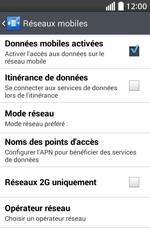 LG L70 - Internet - Activer ou désactiver - Étape 6