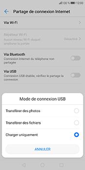 Huawei P Smart - Internet et connexion - Utiliser le mode modem par USB - Étape 7