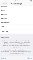 Apple iPhone 6s iOS 10 - Applications - Créer un compte - Étape 23