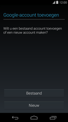 Google Nexus 5 - Applicaties - Account aanmaken - Stap 4
