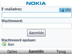 Nokia Asha 201 - E-mail - e-mail instellen: POP3 - Stap 6