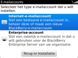 BlackBerry 9900 Bold Touch - E-mail - Handmatig instellen - Stap 5