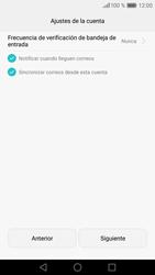 Huawei P9 Lite - E-mail - Configurar correo electrónico - Paso 19