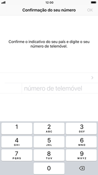 Apple iPhone 6s Plus - iOS 11 - Aplicações - Como configurar o WhatsApp -  8