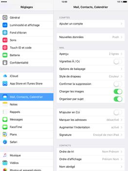 Apple iPad mini 4 - E-mail - Configuration manuelle - Étape 4