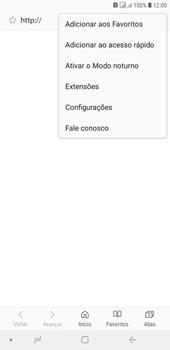 Samsung J4+ - Internet (APN) - Como configurar a internet do seu aparelho (APN Nextel) - Etapa 23