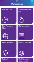 Apple iPhone 6 iOS 9 - Applicaties - MyProximus - Stap 17