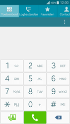 Samsung A300FU Galaxy A3 - Voicemail - Handmatig instellen - Stap 4