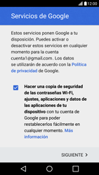 LG K10 4G - E-mail - Configurar Gmail - Paso 15
