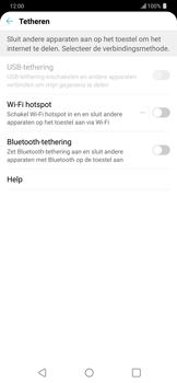 LG g7-thinq-lm-g710em - WiFi - Mobiele hotspot instellen - Stap 4