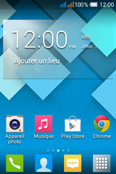 Alcatel OT-4015X Pop C1 - Contact, Appels, SMS/MMS - Ajouter un contact - Étape 1