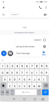 Huawei P20 Pro Android Pie - MMS - Sending a picture message - Step 7