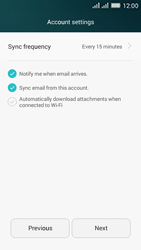 Huawei Y635 Dual SIM - Email - Manual configuration - Step 18