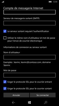 Microsoft Lumia 950 XL - E-mail - Configuration manuelle - Étape 18