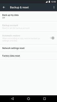 Huawei Google Nexus 6P - Device maintenance - How to do a factory reset - Step 6