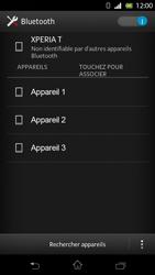 Sony LT30p Xperia T - Bluetooth - connexion Bluetooth - Étape 8
