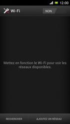 Sony ST26i Xperia J - Wifi - configuration manuelle - Étape 4